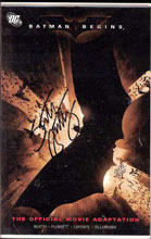 Image: Batman Begins Movie Adaptation  (DF Limited Edition signed by Scott Beatty) -