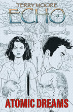Image: Terry Moore's Echo Vol. 02: Atomic Dreams SC  - Abstract Studios