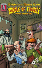 Image: Knights of the Dinner Table: Bundle of Trouble Vol. 25 SC  - Kenzer & Company
