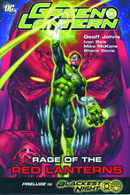 Image: Green Lantern: Rage of the Red Lanterns SC  - DC Comics