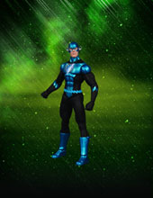 Image: Blackest Night Series 6 Action Figure: Blue Lantern Flash  -