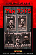 Image: Boys Vol. 06: The Self-Preservation Society HC  - D. E./Dynamite Entertainment