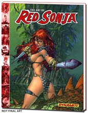 Image: Art of Red Sonja HC  - D. E./Dynamite Entertainment