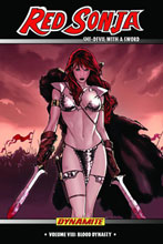 Image: Red Sonja, She-Devil With a Sword Vol. 08: Blood Dynasty HC  - D. E./Dynamite Entertainment