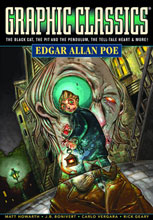 Image: Graphic Classics Vol. 01: Edgar Allan Poe  (current ed.) SC - Eureka Productions