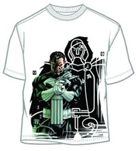 Image: Punisher T-Shirt: Target Practice [White]  (L) - Mad Engine