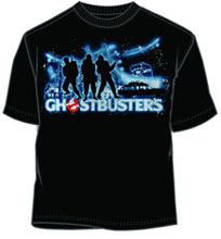 Image: Ghostbusters T-Shirt: Stay Bustin [Black]  (M) -