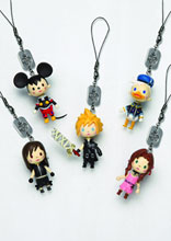Image: Kingdom Hearts Avatar Mascot Strap: Cloud Ac  -