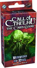 Image: Call of Cthulhu: The Card Game - Murmurs Evil Asylum Pack  - Fantasy Flight Publishing Inc
