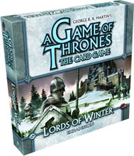 Image: Game of Thrones LCG: Lords Winter Expansion Set  - Fantasy Flight Publishing Inc