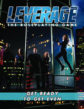Image: Leverage RPG Core Rulebook HC  - Margaret Weis Productions, Ltd
