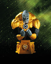 Image: Heroes of the DC Universer Blackest Night Bust: Sinestro Corps Arkillo  - DC Direct
