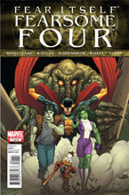 Image: Fear Itself: Fearsome Four #1 - Marvel Comics