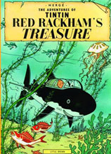Image: Tintin Young Readers Edition: Red Rackham's Treasure SC  - Little Brown and Company