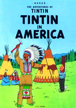 Image: Adventures of Tintin Young Readers Edition: Tintin in America SC  - Little Brown and Company