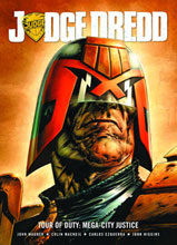 Image: Judge Dredd: Tour of Duty: Mega-City Justice SC  - Rebellion / 2000AD