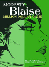 Image: Modesty Blaise: Million Dollar Game SC  - Titan Publishing