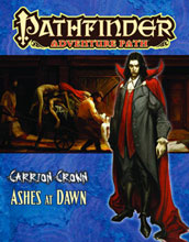 Image: Pathfinder Adventure: Path Carrion Crown #5 - Ashes Dawn  - Paizo Publishing LLC