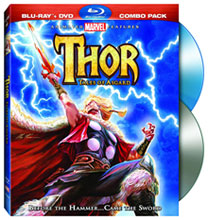 Image: Thor: Tales of Asgard BluRay Disc+DVD