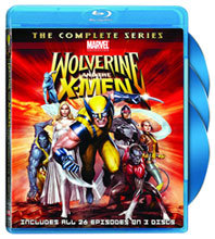 Image: Wolverine & The X-Men Complete Series BluRay 3-Disc Set  -