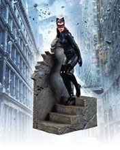 Image: Dark Knight Rises Statue: Catwoman  (1/12 scale) - DC Direct