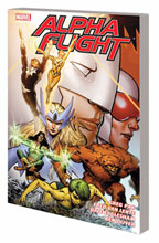 Image: Alpha Flight: The Complete Series by Greg Pak and Fred Van Lente SC