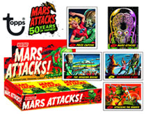 Image: Mars Attacks! Heritage Space Adventures Trading Cards Box  - Topps Company
