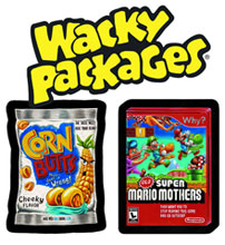 Image: Topps Wacky Packages Series 9 Sticker Card Box  - Topps Company