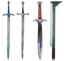 Image: Lord of the Rings Latex Sword: Anduril  -