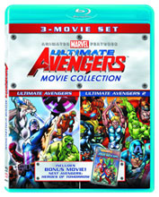Image: Ultimate Avengers Movie Collection Blu-Ray 3-Pack