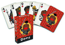 Image: Domo Japanese Playing Cards  - Dark Horse Comics