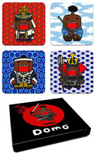 Image: Domo Japanese Coaster Set  - Dark Horse Comics