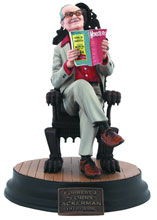 Image: Famous Monsters of Filmland Forrest J Ackerman Statue  - Dark Horse Comics
