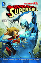 Image: Supergirl Vol. 02: Girl in the World SC  (N52) - DC Comics