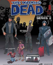 Image: Walking Dead Comic Series 2 Penny Action Figure Case  - Todd McFarland Productions