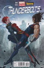 Image: Thunderbolts #10 (NOW!) (Yoon Wolverine Costume variant cover) - Marvel Comics