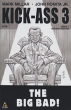 Image: Kick-Ass 3 #2 (JRJr sketch variant cover) - Marvel Comics
