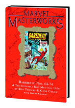 Image: Marvel Masterworks Vol. 198: Daredevil Nos. 64-74, Iron Man Nos. 35-36 HC  - Marvel Comics