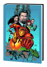 Image: Iron Man by Kurt Busiek and Sean Chen Omnibus HC