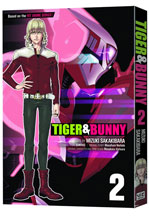 Image: Tiger & Bunny Vol. 02 SC  - Viz Media LLC