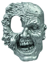 Image: Walking Dead One-Eyed Zombie Metal Bottle Opener  - Walking Dead