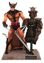 Image: Marvel Select Action Figure: Brown Wolverine  - Marvel Heroes Toys