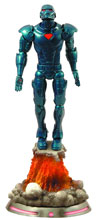 Image: Marvel Select Action Figure: Stealth Iron Man  - Marvel Heroes Toys