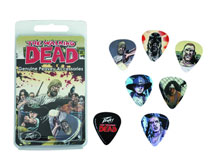 Image: Walking Dead Characters Genuine Peavey Accessories Guitar Pick Pack  - Walking Dead