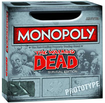 Image: Monopoly: The Walking Dead Survival Edition  - Usaopoly