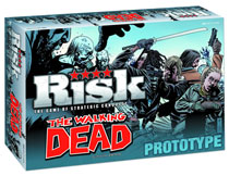 Image: Risk: The Walking Dead  (Comic Edition) - Usaopoly