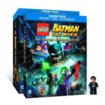 Image: Lego Batman: The Movie  (Blu-Ray+DVD+Minifigure) - Animation