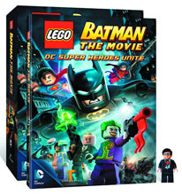 Image: Lego Batman: The Movie - DC Super Heroes Unite  (DVD+Minifig) - Animation