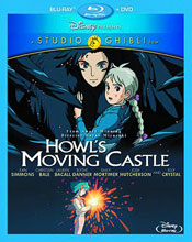 Image: Howl's Moving Castle BluRay+DVD  - Classic Anime