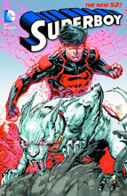 Image: Superboy Vol. 04: Blood and Steel SC  (N52) - DC Comics